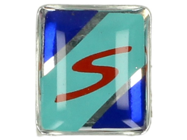 Decoración, S, azul, verde, rojo - Para guardabarros embellecedor
