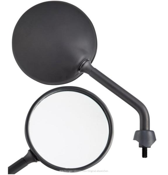 Espejo Shorty, negro mate, derecho e izquierdo para Vespa GTS / GTS Super HPE 125/300 ('19-)