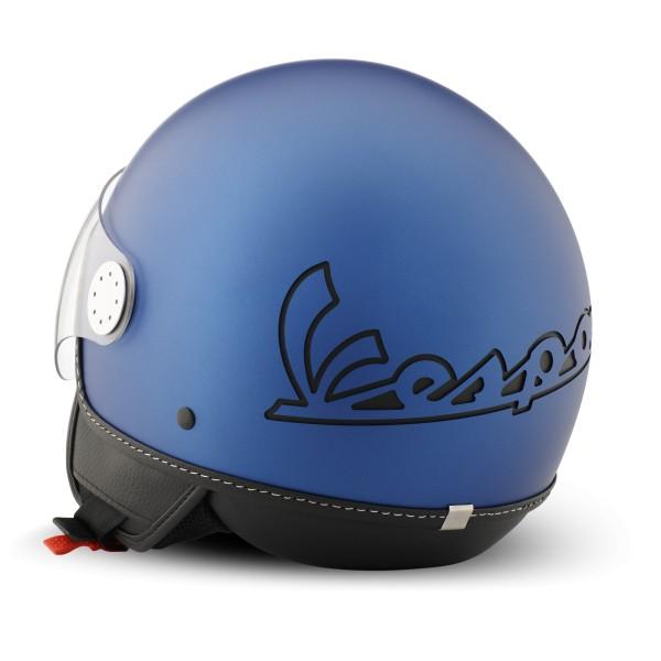Casco Vespa Jet Visor 3.0 Azul Vivace