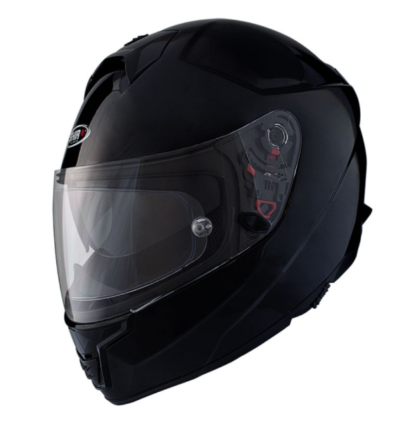 Shiro Casco Integral, SH351, Fiber, negro