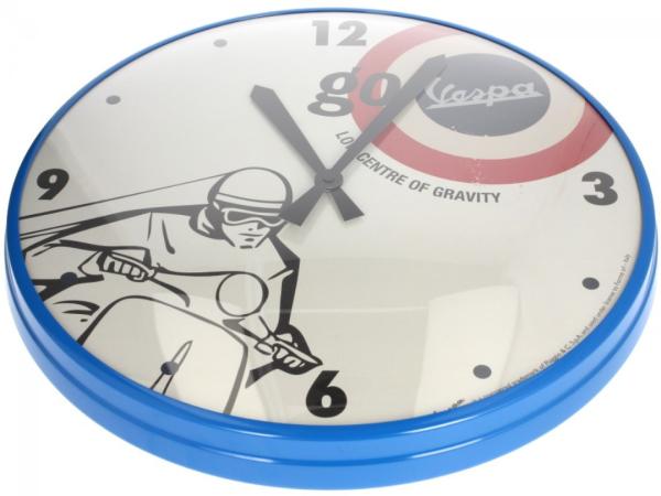 Reloj de pared Vespa blanco