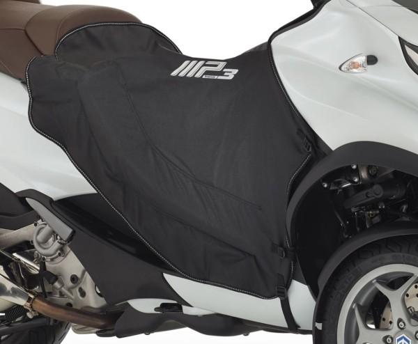 Manta protectora de piernas (calentable) negra para MP3 original