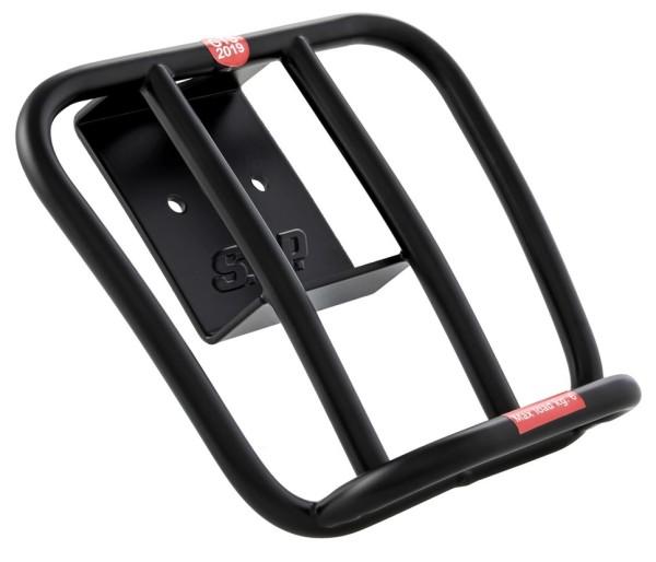 "Portaequipajes atrás ""70's"" para Vespa GTS / GTS Super HPE 125-300 ('19-), mate negro"