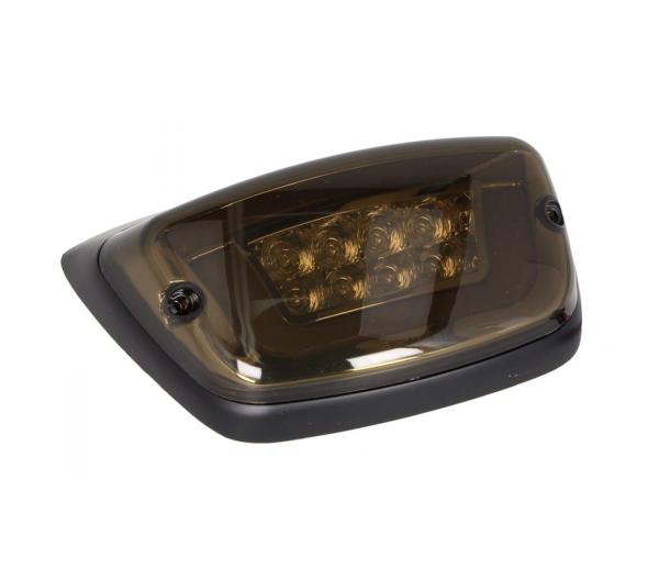 Luz trasera LED negra, homologada E para Vespa LX / LXV