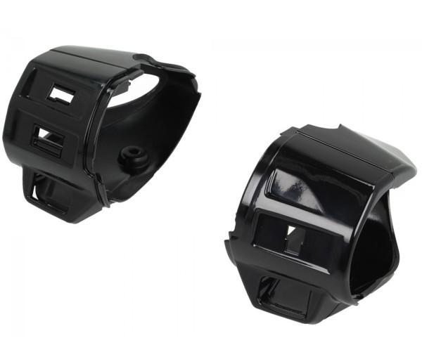 Schaltergehäuse, schwarz glanz für Vespa Primavera / Sprint (50ccm)