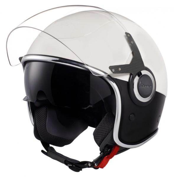 Vespa VJ Helmet blanco negro