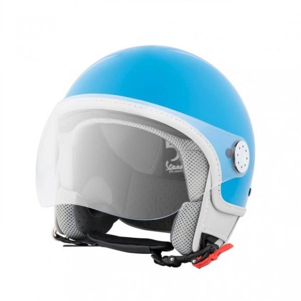 Helmet Demi Jet Vespa Visor 3.0 50th Anniversary Blue 291/A