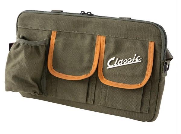 "Bolsa ""Classic"" para maletero / guantera Vespa - olive, canvas"