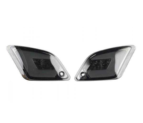 Juego de intermitentes LED para Vespa GT, GTL, GTV, GTS 125-300 trasero, tintado