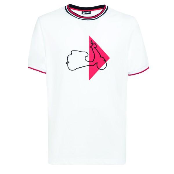 Vespa T-Shirt Modernist hombre blanco