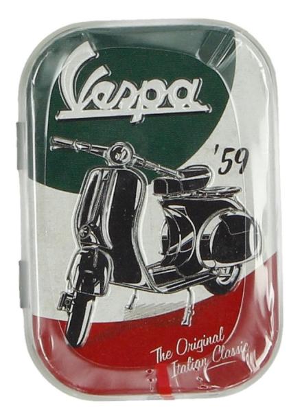 Vespa pastillero The Italian Classic, lata