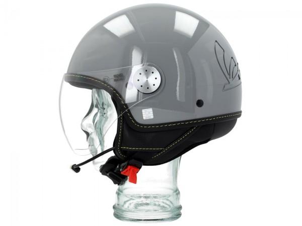 Vespa Jet Helmet Visor 3.0 Bluetooth gris