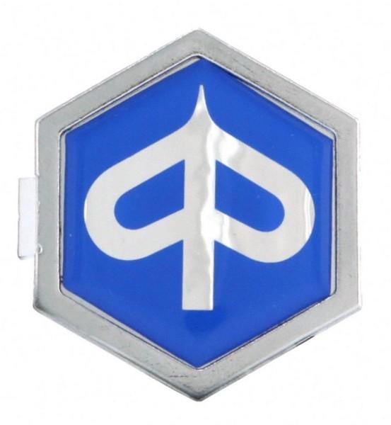 "Logotipo ""PIAGGIO"" frontal, azul"