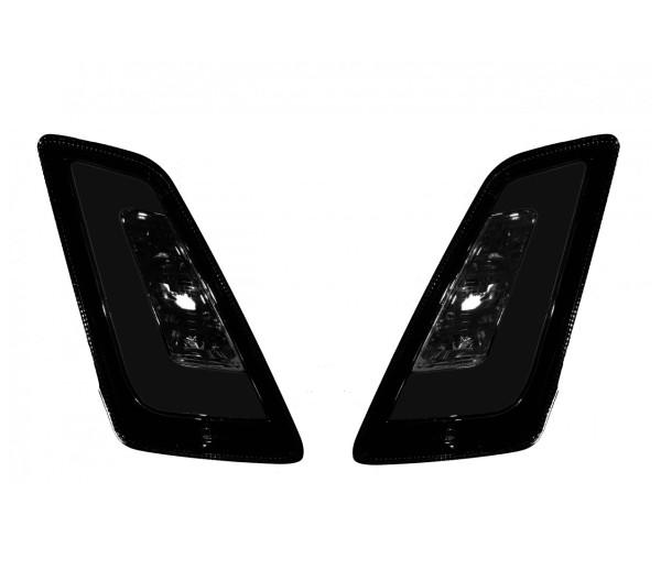 Juego de intermitentes LED para Vespa GT, GTL, GTV, GTS 125-300 frontal, tintado