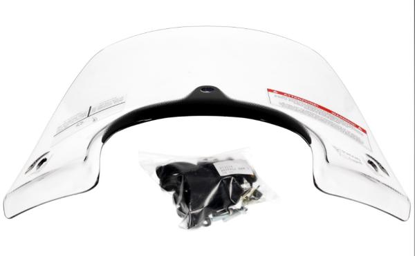 Parabrisas deportivo transparente, completamente para Beverly Original Piaggio