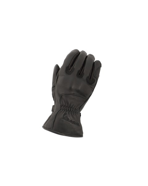 Vespa 3/4 Guantes de Invierno Piel Genuina negro