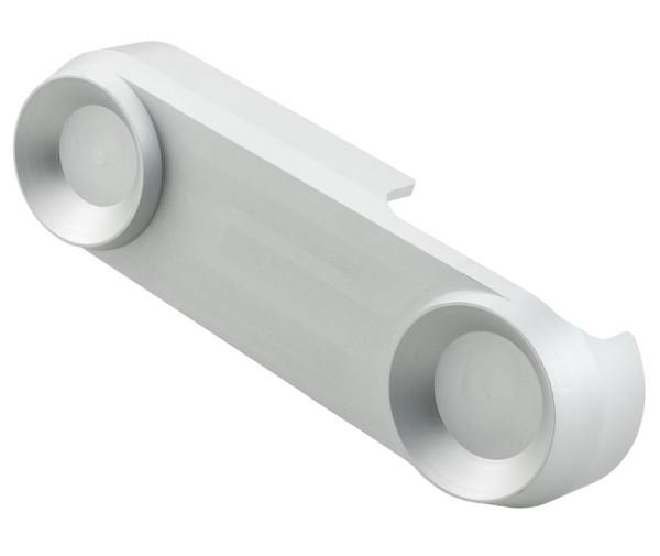 Tapa brazo suspension para Vespa, mate plata