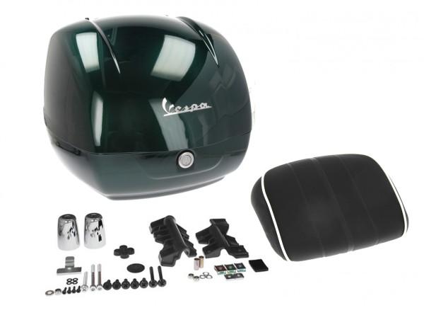 Estuche superior original para Vespa GTS Racing Sixties - metallized green 349/A, 37 l