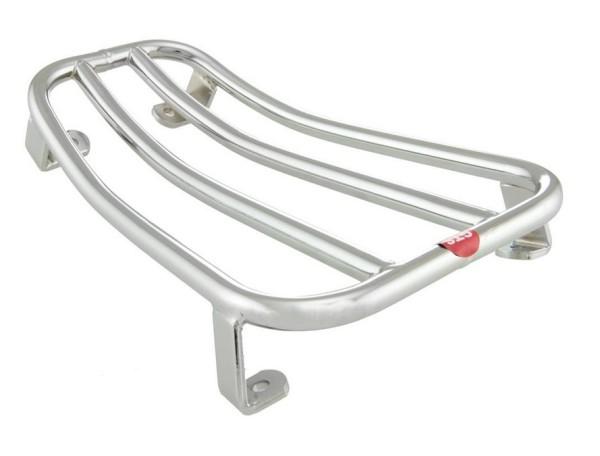 Portaequipajes abertura para Vespa GTS/GTS Super/GTV/GT 60/GT L 125-300ccm 4T LC, cromo