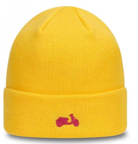 Gorra de punto Vespa NUEVA ERA amarilla
