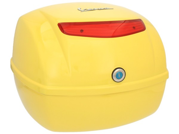 Original Baúl Vespa LX/ S/ PX amarillo Citron 928/A
