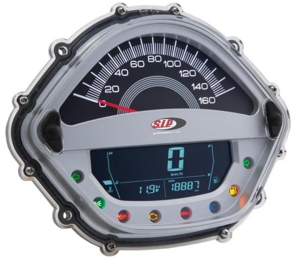 Medidor del número de revoluciones/Tacómetro para Vespa GT/GT L 125/200ccm/ GTS 125ccm, plata