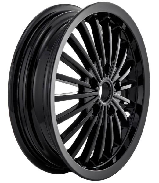 Llanta delante/atrás para Vespa GTS/GTS Super/GTV/GT 60/GT/GT L 125-300ccm, negro brillante
