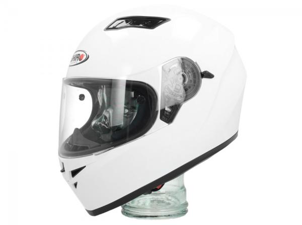 Shiro Casco Integral, SH600, Monocolor, blanco