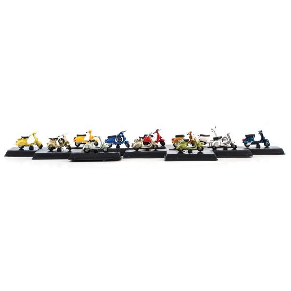 Modelos de Vespa 1:32 Set 24 piezas