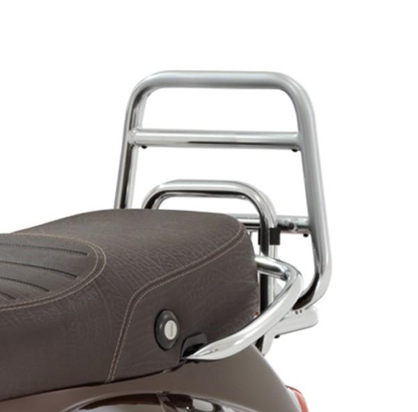 Portador plegable original cromado para maleta superior Vespa LX / LXV