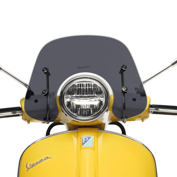 """Parabrisas deportivo """"Cruiser"""" ahumado para Vespa GTS / Super (HPE & SuperTech) Original Vespa"""