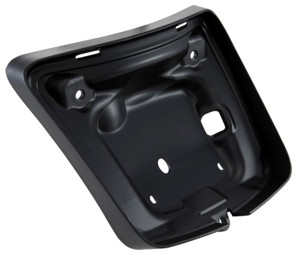 Chasis piloto trasero para Vespa GTS/GTS Super/GTV 125-300ccm ('14-'18), mate negro