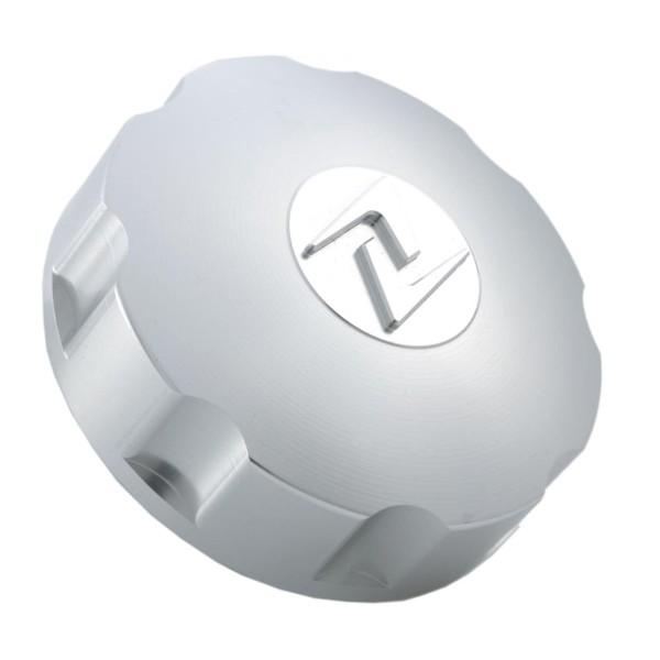 Tapón de depósito plateado, Zelioni para Vespa ET4 / LX / LXV / S / Primavera / Sprint / GTS / GTS Super / GTV / GT