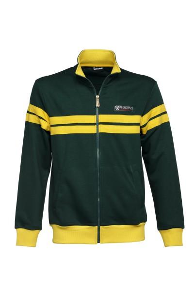 Chaqueta sudadera Vespa, Racing Sixties 60s verde / amarillo