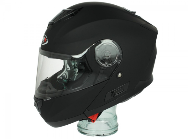 Shiro Casco Flip Up, SH507, negro mate