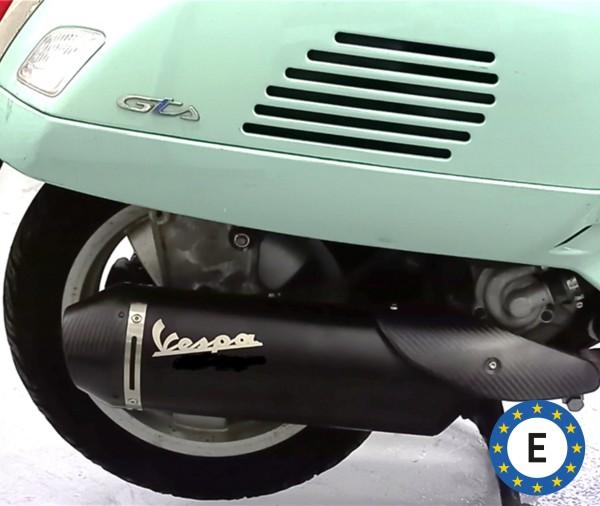 Escape deportivo Vespa original para Vespa GTS / GTS Super / GTV 300ccm HPE (`20-) Euro 5