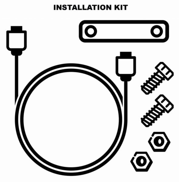 Kit de instalación antirrobo electrónico (1D002554)