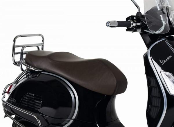 Asiento de cuero real para Vespa GTS