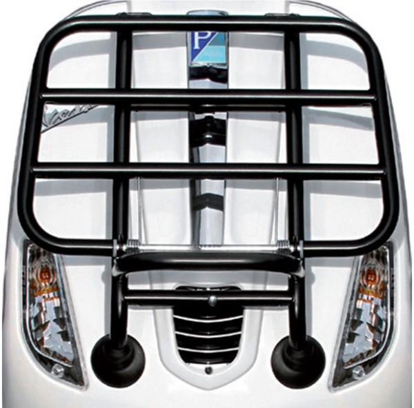 Original Portaequipaje delantero plegable negro mate Vespa S