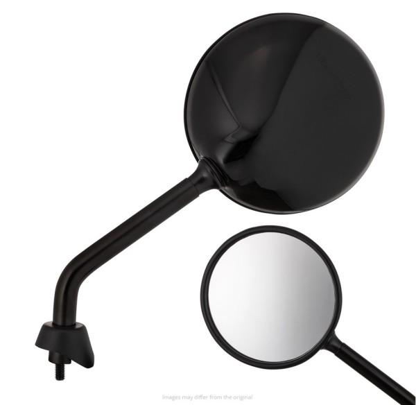 Espejo Shorty, negro brillante, derecho e izquierdo para Vespa GTS / GTS Super HPE 125/300 ('19-)