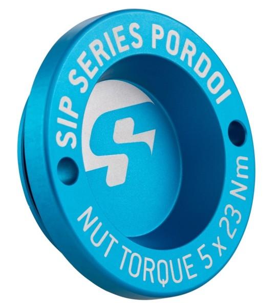 "Caperuza antipolvo 12"" llanta delante para Vespa GTS/GTS Super/GTV/GT 60/GT/GT L 125-300ccm, azul mate"