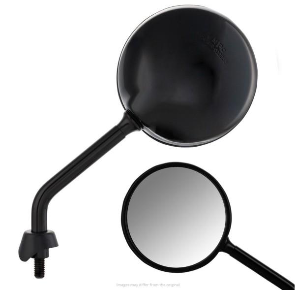 Espejo Shorty para Vespa, negro brillante, derecho e izquierdo