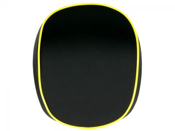Original respaldo para Topcase Vespa Elettrica grigio giallo/yellow