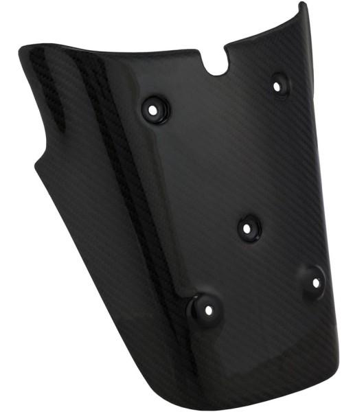 Soporte de la placa de matrícula atrás para Vespa GTS/GTS Super 125-300ccm (-'13), carbón