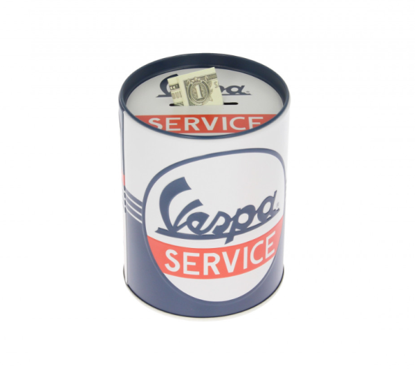 Vespa caja de almacenamiento Vespa Service, lata