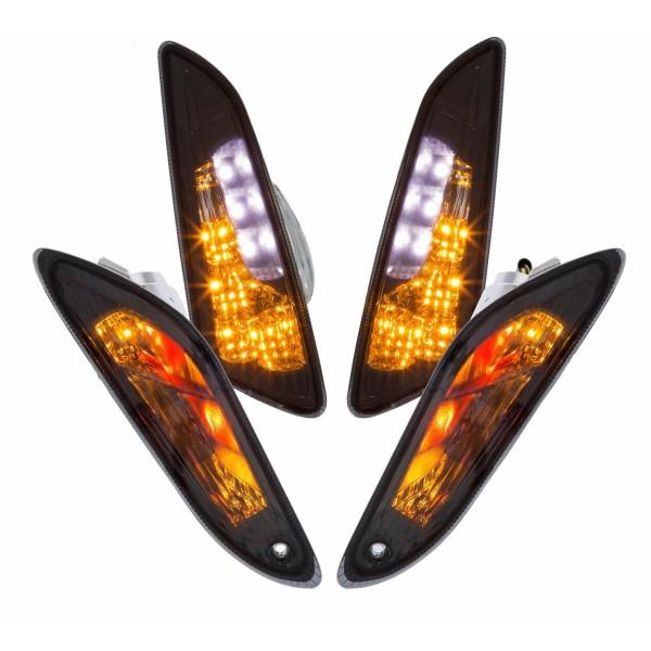 Juego de intermitentes LED transparente para Vespa Primavera / Sprint 50ccm 2T / 4T