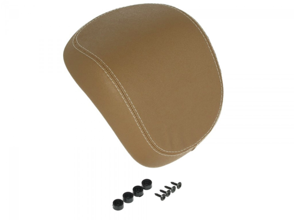 Original Respaldo maleta Vespa Primavera / Sprint - marrón claro