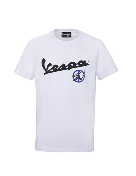Sean Wotherspoon - Vespa T-Shirt Blanco