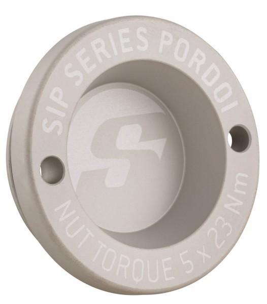 """Caperuza antipolvo 12"""" llanta delante para Vespa GTS/GTS Super/GTV/GT 60/GT/GT L 125-300ccm, mate plata"""
