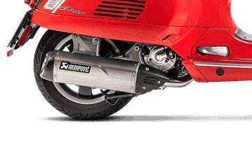 Escudo térmico de carbono Akrapovic VESPA GTS / GTV 250/300 / GTS 125/150, es decir, Super / Sei Giorni / HPE